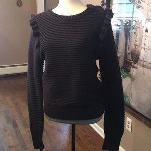 Sweaters - Ruffle Sweater